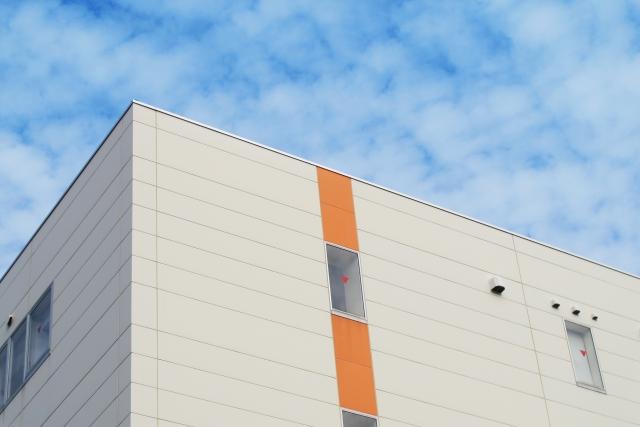 会社建物の外観
