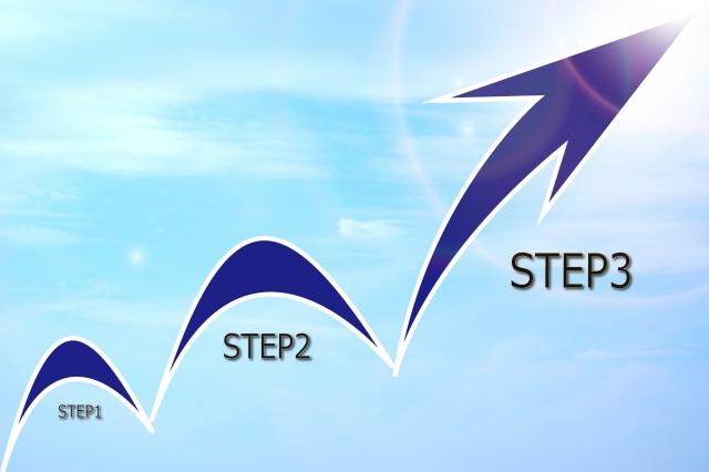 矢印のSTEP