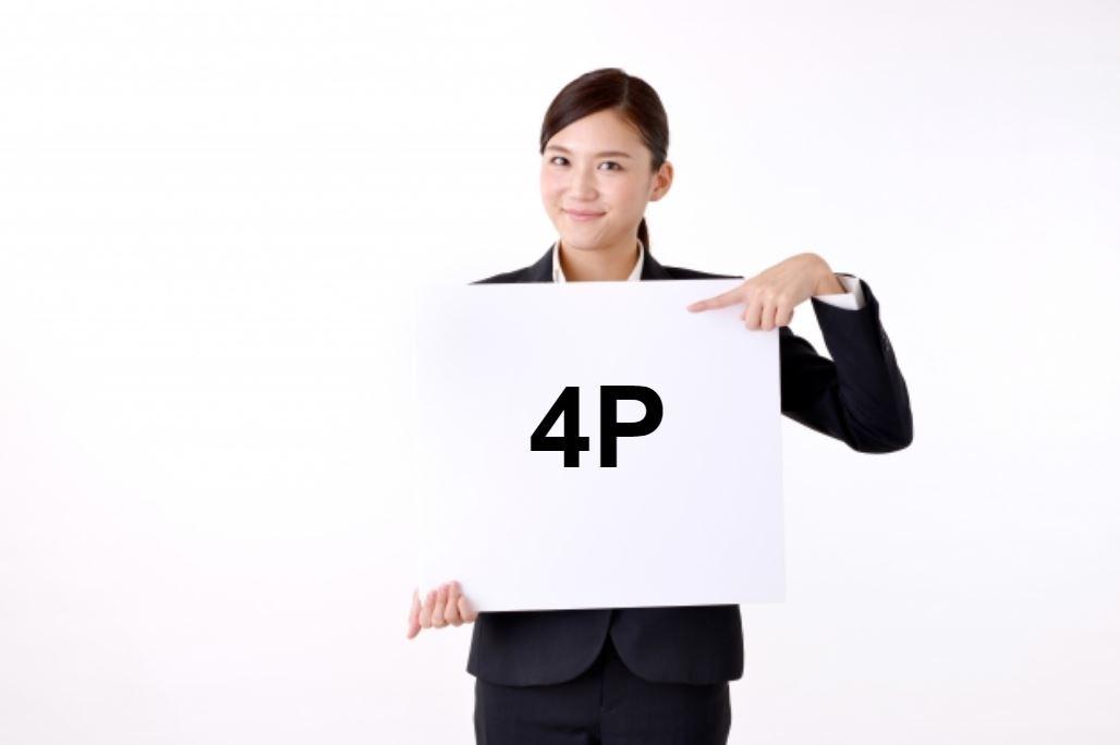 マーケティング戦略における4p