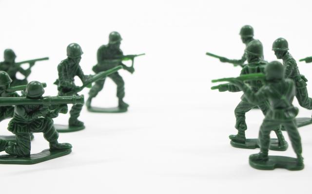 兵士のイメージ