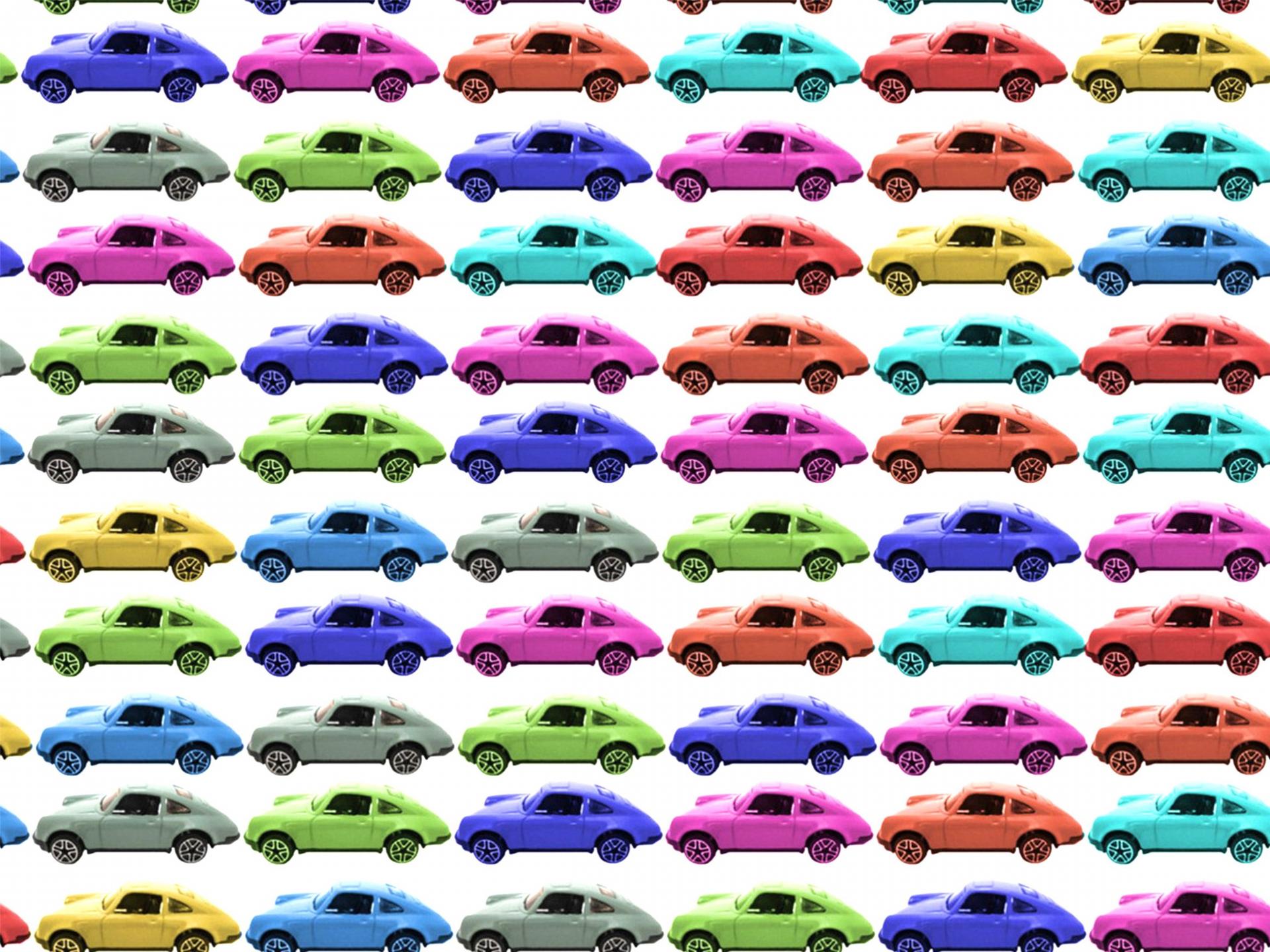 車がたくさん